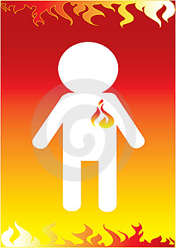 Fireman Icon Stock Photos - Image: 8439633
