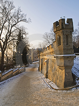 The Castle Road Royalty Free Stock Images - Image: 8439659