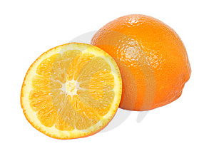 Orange Composition Royalty Free Stock Images - Image: 8440049