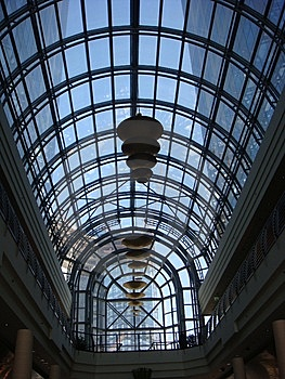 Modern Glass Ceiling Stock Images - Image: 8440144