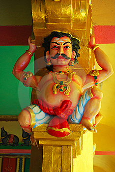 Indian Statue Royalty Free Stock Photography - Image: 8440237