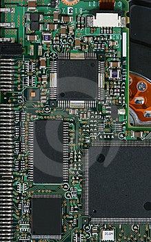 Electronic Microcircuit Stock Photography - Image: 8440282