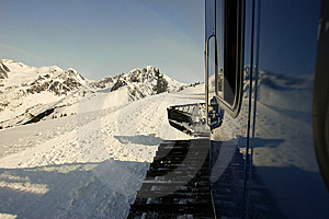 Snow Cat In Alaska Royalty Free Stock Image - Image: 8440546