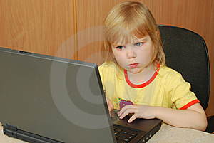 Girl With Notebook Stock Photos - Image: 8440703