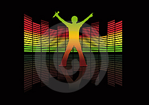 Singer Royalty Free Stock Image - Image: 8441136