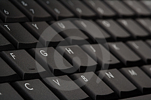 Computer Keyboard Selective Focus Royalty Free Stock Photo - Image: 8441445