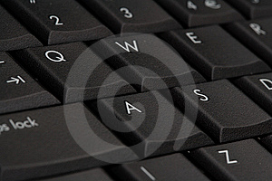 Computer Keyboard Selective Focus Stock Photos - Image: 8441463