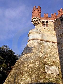 DE Albertis Castle Royalty-vrije Stock Afbeeldingen - Afbeelding: 8441779