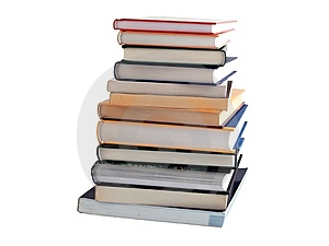 Heap Of Books Royalty Free Stock Photo - Image: 8442035