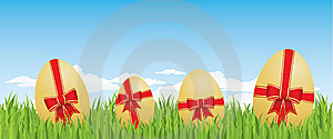Easter Egg Background Royalty Free Stock Images - Image: 8442059