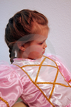 Portrait Of A Princess Royalty Free Stock Images - Image: 8442729