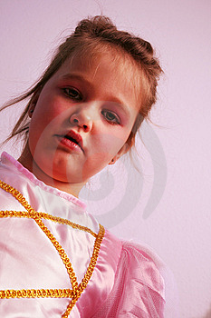 Portrait Of A Princess Royalty Free Stock Photography - Image: 8442947