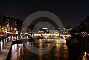 Siene River Royalty Free Stock Photo - Image: 8443695