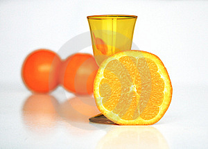 Jus D'orange Photos stock - Image: 8443783