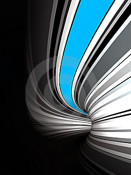 Tunnel Background Stock Photo - Image: 8444190