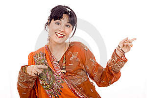 Beautiful Smiling Woman Royalty Free Stock Images - Image: 8444479