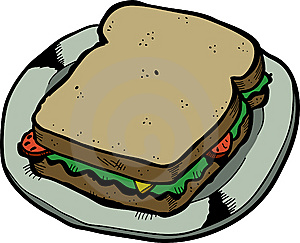 Sandwich Royalty Free Stock Image - Image: 8444696
