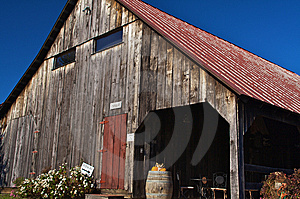 Winery Barn Stock Photography - Image: 8444802