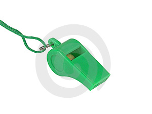 Sportive Whistle Royalty Free Stock Photo - Image: 8444965