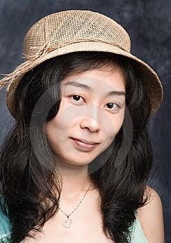 Chinese Fashion Model Royalty Free Stock Photo - Image: 8445535