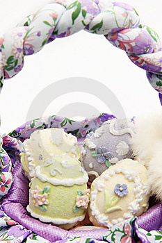 Easter Basket Royalty Free Stock Photography - Image: 8446437