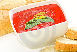 Tomato Soup Royalty Free Stock Photo - Image: 8446545