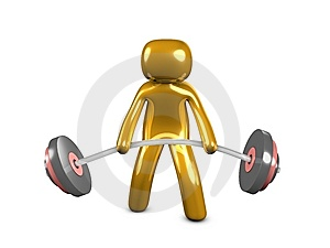 Weightlifter Royalty Free Stock Photography - Image: 8446647
