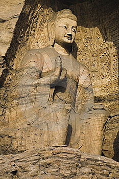 Yungang Caves Stock Image - Image: 8446691