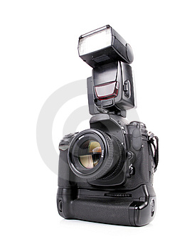 Professional Camera Royalty Free Stock Photo - Image: 8447685