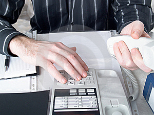 Businessmans Hands Royalty Free Stock Photo - Image: 8448025