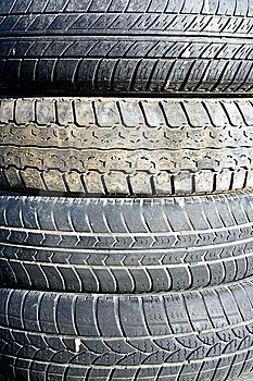 Tire Junkyard Stock Photos - Image: 8448683