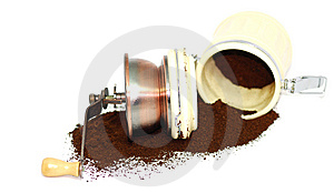 Coffee Grinder 1 Royalty Free Stock Image - Image: 8448916