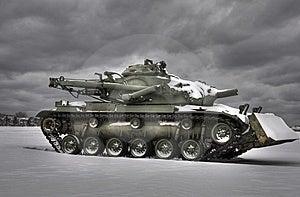 Snow Tank HDR Royalty Free Stock Image - Image: 8449006