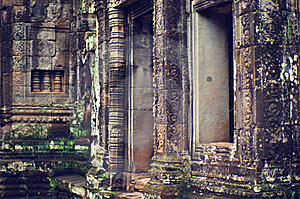 Angkor Wat (Bayon Temple) Stock Photo - Image: 8449450
