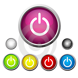 Set Buttons Royalty Free Stock Photos - Image: 8451268