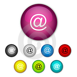 Set Buttons Stock Images - Image: 8451424