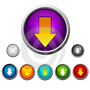 Set Buttons Stock Photo - Image: 8451440