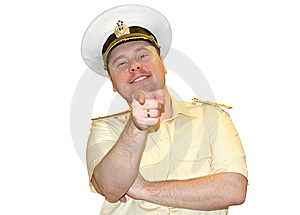 Russian Naval Officer. Royalty Free Stock Images - Image: 8451509