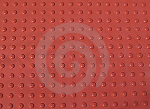 Red Non-Slid Pattern On A Sidewalk Royalty Free Stock Image - Image: 8452116