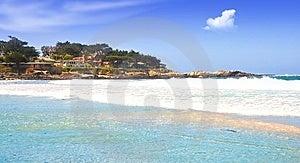 Beautiful Tropical Beach Royalty Free Stock Image - Image: 8452186