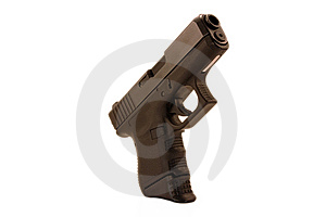 Compact Pistol Royalty Free Stock Images - Image: 8452509