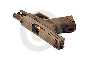 Chambered Bullet Stock Photo - Image: 8452740