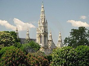 Vienna (Austria) - Gildhall Royalty Free Stock Image - Image: 8453096
