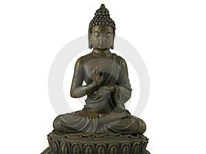 Statue Of Buddha Royalty Free Stock Images - Image: 8454469