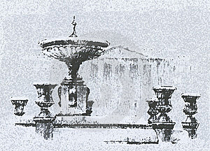 Fountain Stock Image - Image: 8454931