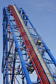 Roller Coaster Royalty Free Stock Images - Image: 8455269