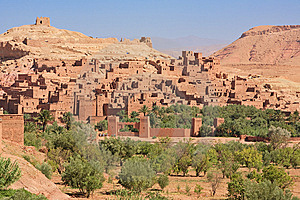 Casbah Ait Benhaddou Morocco Stock Photo - Image: 8455440