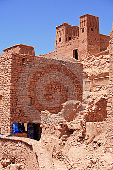 Casbah Ait Benhaddou Morocco Royalty Free Stock Photography - Image: 8455627