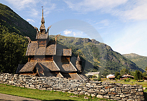 Stave Church Royalty Free Stock Photography - Image: 8455657