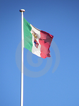 Italian Navy Flag Royalty Free Stock Images - Image: 8456309